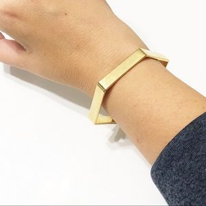 J. Crew Jewelry - J. Crew • Hexagon Bangle Bracelet
